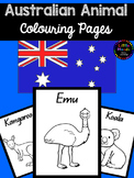 Australian Animal Colouring Pages -QLD Print