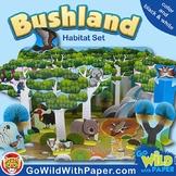 Australian Animal Craft | Eucalyptus Forest / Bushland Animal Habitat Diorama