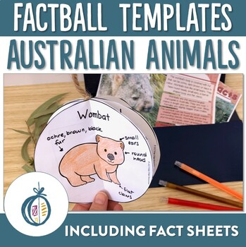 Australian Animal Factballs and Fact Sheets