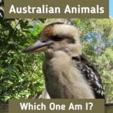 Australian Animals ID | Non Fiction Comprehension | Intera
