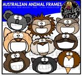 Australian Animal Frames Clip Art Bundle {Educlips Clipart}