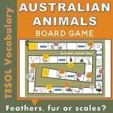 Australian Animal Printable Board Game