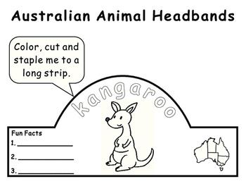 Australian Animal Headbands