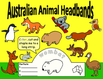 Australian Animal Headbands