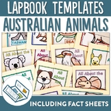 Australian Animal Lapbook and Fact Sheets
