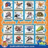 Australian Animal Masks BUNDLE   Craft Project