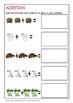 Australian Animal Math Worksheets
