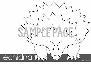 Australian Animal Pokey Pin Packet