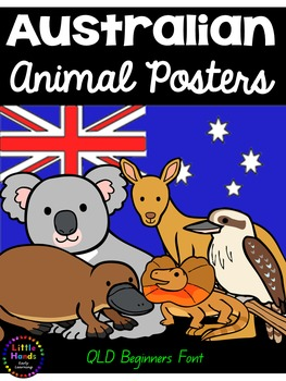Australian Animal Posters