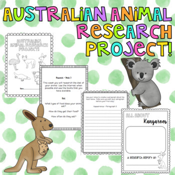 Australian Animal Research Report