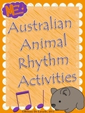 Australian Animal Rhythm Activities (Ta & Ti-Ti)