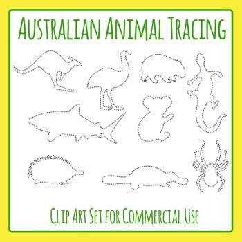 Animal Tracing Worksheet Teaching Resources | Teachers Pay Teachers