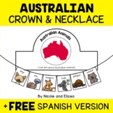 Australian Animal Activity Crown and Necklace