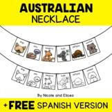 Australian Animal Activity Necklace Craft