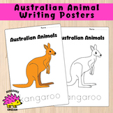 Australian Animals - Set of 8, A4 Trace / Colour In Worksheets