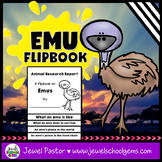 Australian Animals Activities (Emu Research Flipbook)