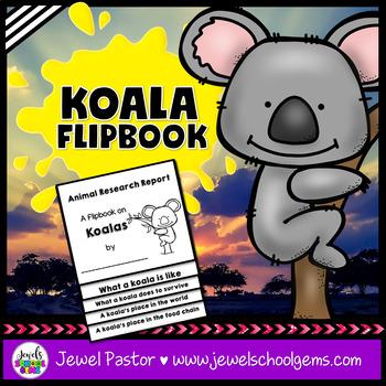 Australian Animals Activities (Koala Research Flipbook) #austeacherbfr