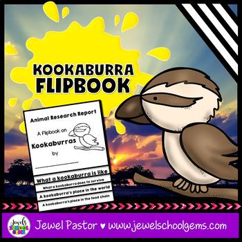 Australian Animals Activities (Kookaburra Research Flipbook) #austeacherbfr