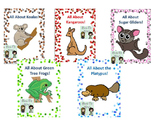Australian Animals Adapted Books and Facts sheets