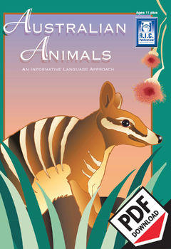 Australian Animals – Ages 11+