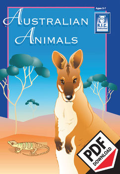 Australian Animals – Ages 5-7