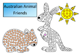 Australian Animals Art For Early Years Q Tip Painting Temp