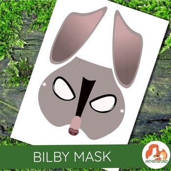 Australian Animals: Bilby Mask