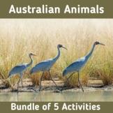 Australian Animals | Bundle of 5 Interactive Boom Card Activities
