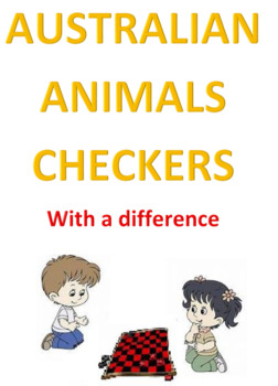 Australian Animals Checkers With a DIFFERENCE