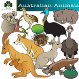 Australian Animals Clip Art