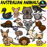 Australian Animals Clip Art Bundle {Educlips Clipart}