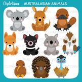 Australian Animals Clipart