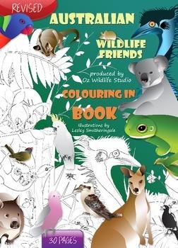 Australian Animals Colouring Sheets E-Book