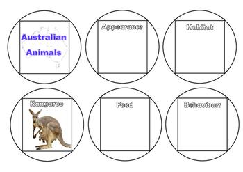 Australian - Animals Construction Cubes