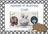 Australian Animals Craft