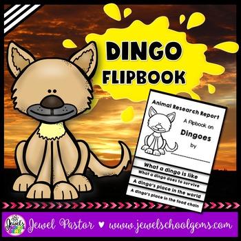 Australian Animals Activities (Dingo Research Flipbook)