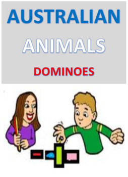 Australian Animals Dominoes
