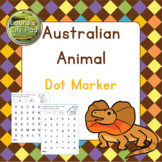 Australian Animals Dot Marker Center