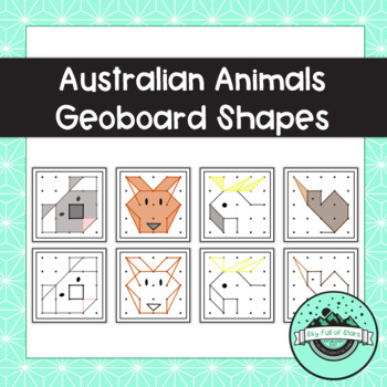 Australian Animals Task Cards