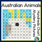 Australian Animals Hundreds Chart Mystery Pictures