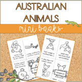 Australian Animals | Mini Books