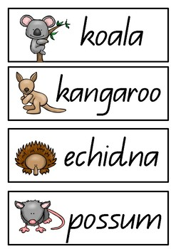 Australian Animals Mini Pack