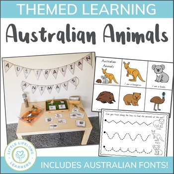 Australian Animals Mini Unit