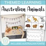 Australian Animals Mini Unit