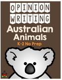 Australian Animals Opinion Writing Pack