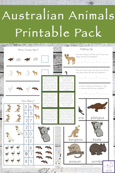 Australian Animals Pack