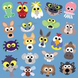 Printable Australian Animals Masks Collection