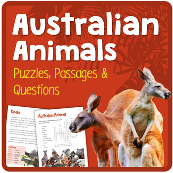 Australian Animals (Puzzles & Fun Stuff)