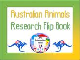 Australian Animals Research Flip Book