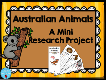 Australian Animals Research Project